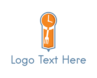 Hour - Food Time logo design
