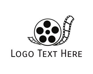 Tape - Snail Reel logo design