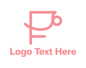 Restaurant - Pink Cup logo design