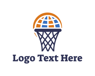 Basketball - Global Basket logo design