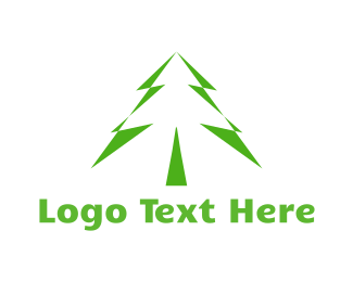 Christmas - Pine Tree logo design