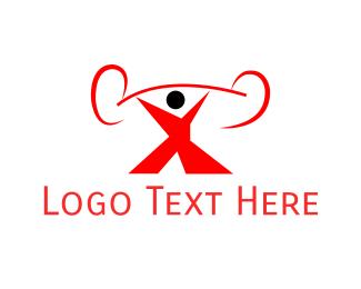 Bodybuilder - Strong Man logo design