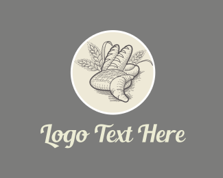 French - Artisan Bakery logo design