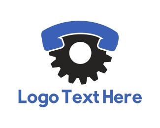 Call - Industrial Call logo design