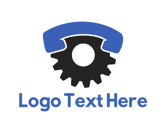 Call Center - Industrial Call logo design