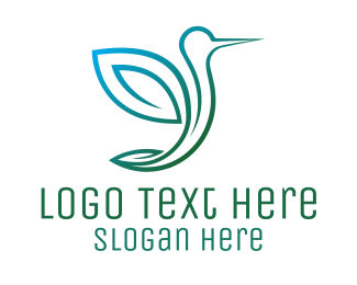 Airline - Abstract Bird Logo logo design