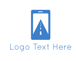 Mobile - Digital Path logo design