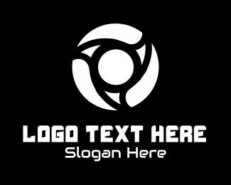 Tire - Yellow Lens logo design