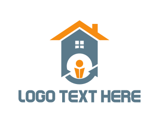 Person - House Owner logo design