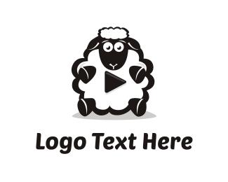 Wool - Sheep Media logo design
