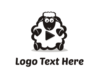 Sheep - Sheep Media logo design
