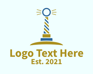 Lighthouse - Lighthouse Ring  logo design