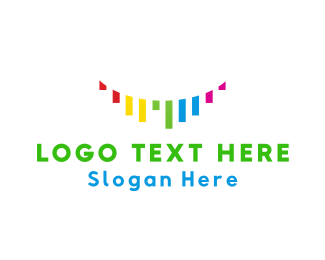 Colorful - Colorful Ribbons logo design