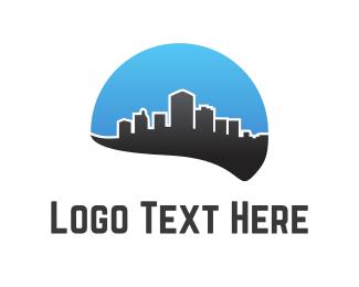 Skyline - Black City logo design