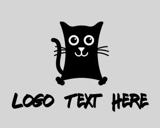 Black - Black Cat logo design