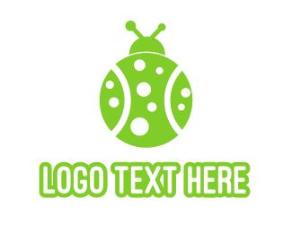 Bug - Tennis Bug logo design