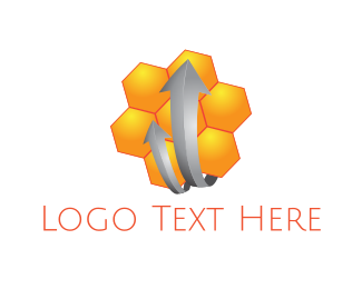 """""""Honeycomb Arrows"""" by FireFoxDesign"""