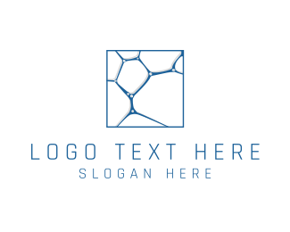 Microscope - Cell Structure logo design