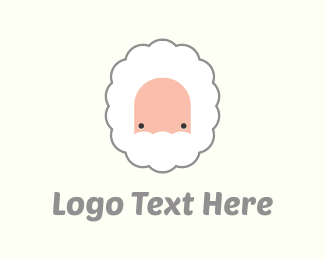 Sheep - Grey Beard logo design