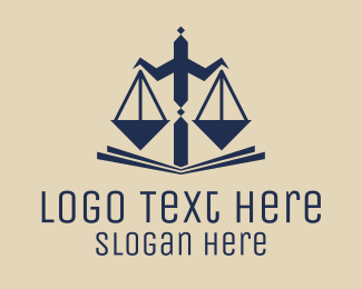 Fair - Legal Balance logo design