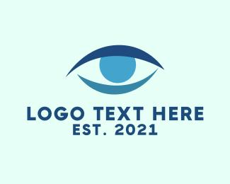 Ophthalmologist - Blue Eye logo design