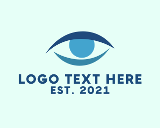 Optometrist - Blue Eye logo design