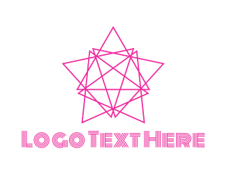 Minimalist - Triangle Star logo design