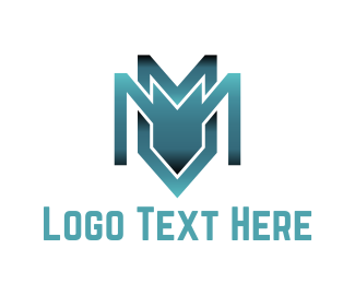 Safety - Industrial Letter M logo design