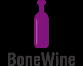 Bottle - Bone Bottle logo design