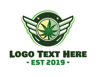 Medical Marijuana - High Flyer logo design
