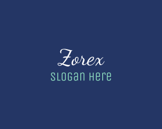 Cool - Blue Cool Text logo design