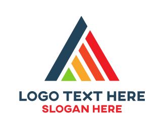 Creative Services - Rainbow Triangle logo design