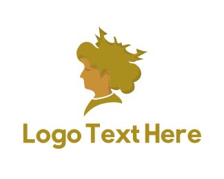 Blonde - Blonde Queen  logo design