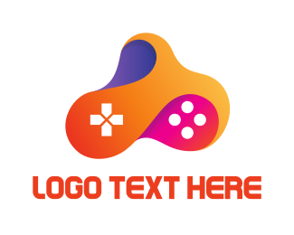 Multicolored Fluid Controller Logo