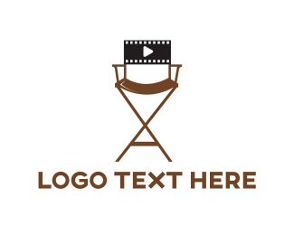 Director - Film Director logo design