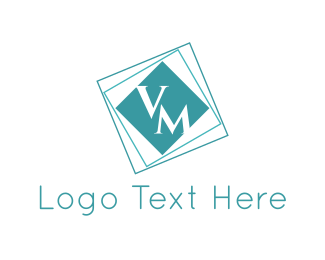 Marketing - V & M logo design