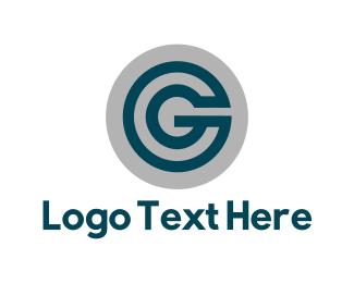 Round - Round Letter G logo design