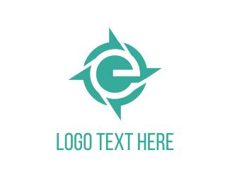 Reuse - E Propeller logo design