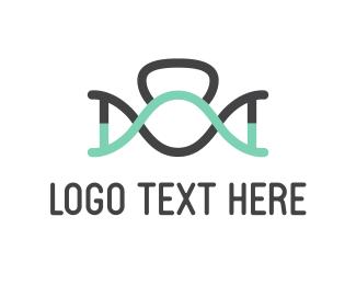 Academy - Physical DNA logo design