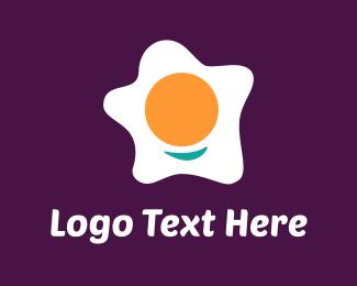 Breakfast - Happy Egg logo design