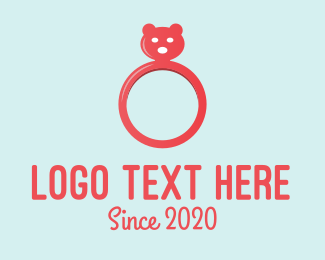 Cosmetics - Bear Ring logo design
