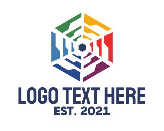 Appliance - Polygon Wheel  logo design