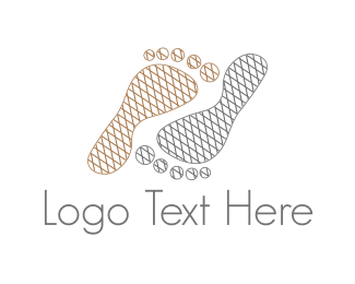 Foot - Foot Steps logo design