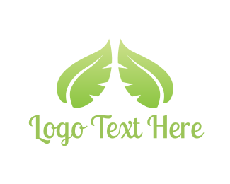 Duo - Green Leaves logo design