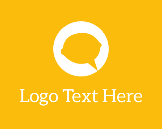 Communicate - Lemon Talk logo design