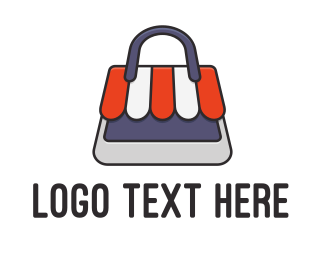 Handbag - Bag Store logo design