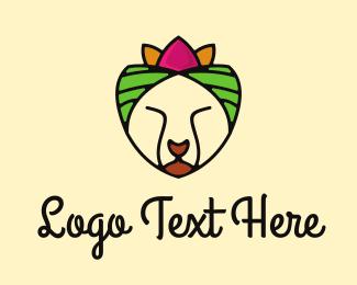 Caribbean - Tropical Cat logo design