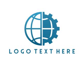 Machine - Universal Gear logo design