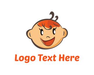 Ginger - Baby Girl logo design