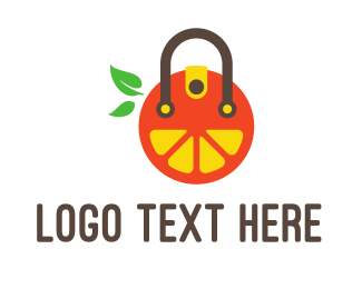Handbag - Fruit Bag logo design